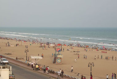 Puri, the abode of Lord Jagannath, is bestowed with many natural bounties including a vast stretch of sandy beach.The city's 10-km-long beach is famous for ...
