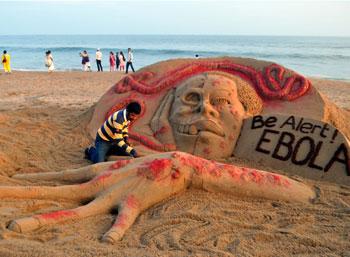ebola-sculpture