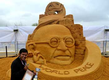 Gandhi-world-peace