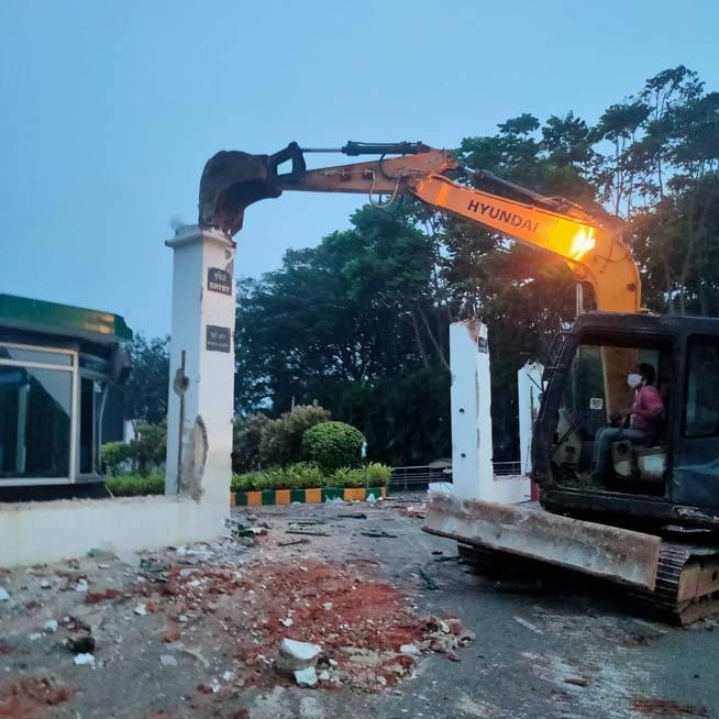 gitam-demolition